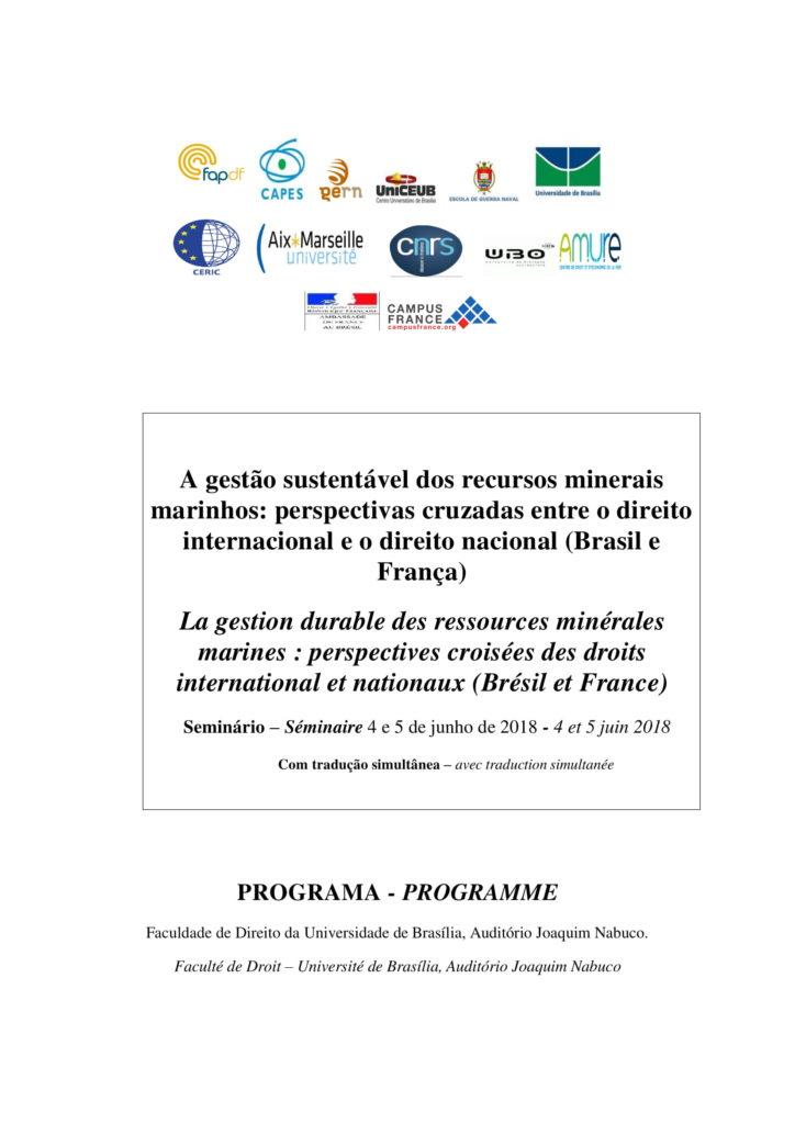 Programa - A gestão sustentável dos recursos minerais marinhos - 4 e 5 de junho - Faculdade de Direito - versão final-1