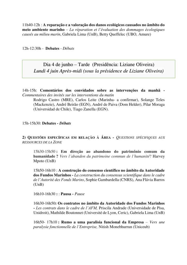 Programa - A gestão sustentável dos recursos minerais marinhos - 4 e 5 de junho - Faculdade de Direito - versão final-3
