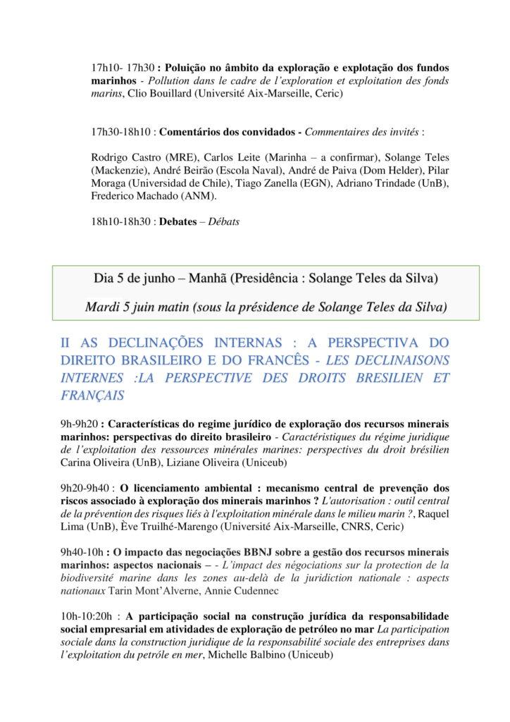 Programa - A gestão sustentável dos recursos minerais marinhos - 4 e 5 de junho - Faculdade de Direito - versão final-4